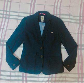 Timberland Wool and Cotton Winter Blazer (navy) 夾綿羊毛西裝外套 (深藍)
