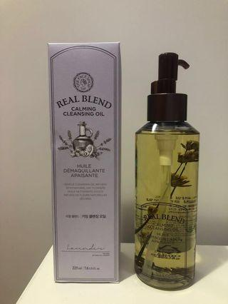 THE FACE SHOP Real Blend Calming Cleansing Oil 手製植萃舒緩卸妝油 225ml