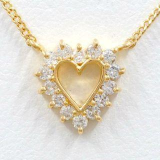 18k Diamond Necklace - Heart