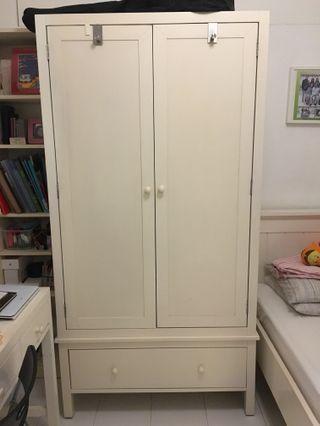 Wardrobe with drawer