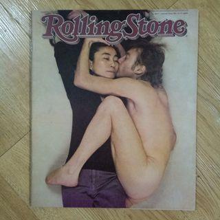 John Lennon and Yoko Ono Rolling Stone 1981 Issue