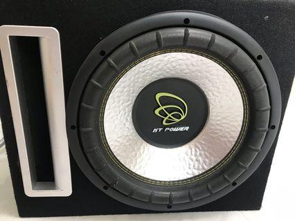 Double coil 12inch  woofer.