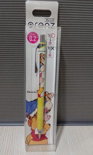 Winnie the pooh鉛芯筆 0.2mm 日本製