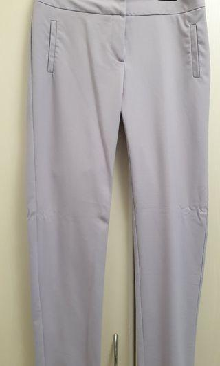 Lilac pants from Warehouse