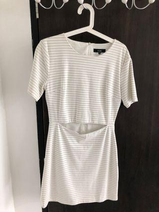 Striped work dress