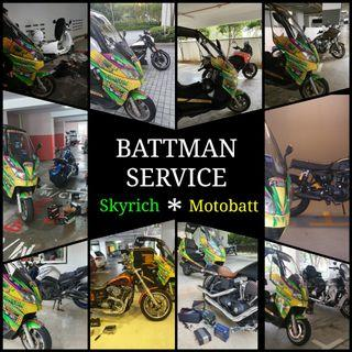 Motorcycle Battery Local Delivery