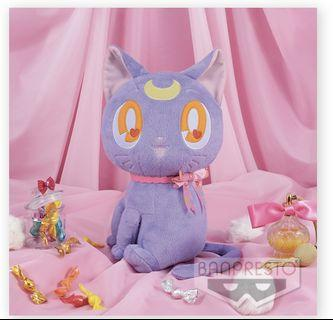 Sailor Moon - Luna super big plushy - Ribbon Style 美少女戰士露娜公仔
