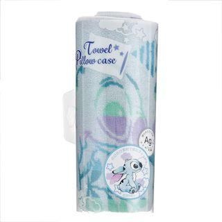 日本迪士尼 DISNEY SUMMER ART 毛巾枕頭套 床上用品 スティッチ/Stitch/史迪仔