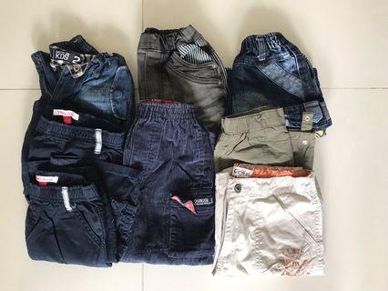 🚚 Bundle of boy bottoms for sale ( Age 2-4)