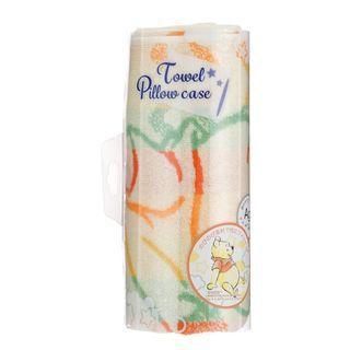 日本迪士尼 DISNEY SUMMER ART 毛巾枕頭套 床上用品 プーさん/Winnie the Pooh/小熊維尼/維尼熊