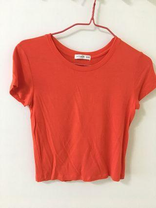 🚚 Orange Crop Top