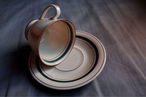 Vintage 中古丹麥牌子KPM茶杯套