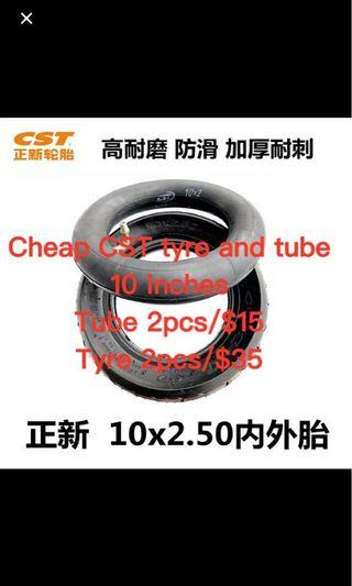 Cheaper cheaper 8/8.5/10 inches escooter tyre and tube replacement services cheap tyre and tube sell cheaper
