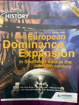 History Textbook- Unit 1 (Revised Edition)