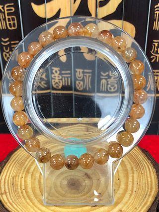 🚚 铜发晶手链
