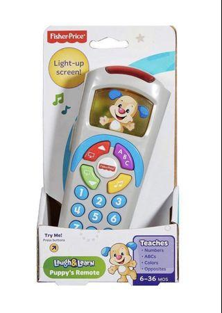 Fisher Price Laugh & Learn Puppy's Remote (Blue)