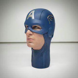 先閱文,後發問 Hottoys avengers 頭雕拆售 Captain america 復聯一版本