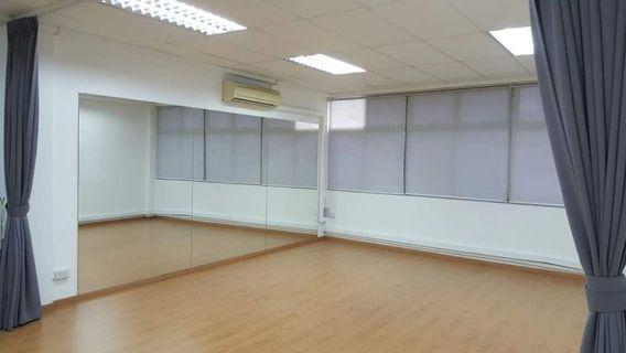 Need a space to practice your dance or fitness routines? Cheapest hourly rate for dance studio @ MacPherson for rent!!!