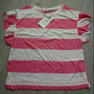 NEW ZARA Ladies Stripes Top