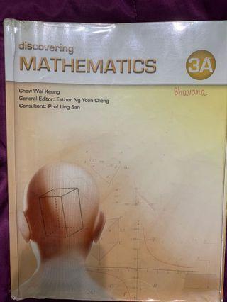 Discovering Mathematics 3A