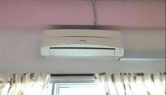 1hp wall unit & 5hp ceiling exposed unit aircon
