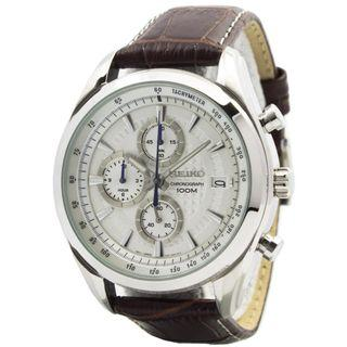 5折出售 深水步有門市全新1年保養有單正版正貨 SEIKO 精工錶 SSB181P1