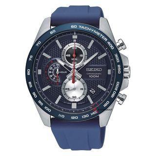 5折出售 深水步有門市全新1年保養有單正版正貨 SEIKO 精工錶 SSB289P1