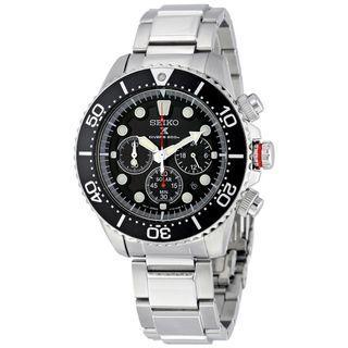 5折出售 深水步有門市全新1年保養有單正版正貨 SEIKO 精工錶 SSC015P1