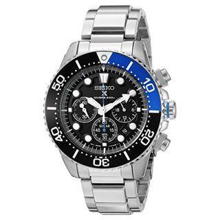 5折出售 深水步有門市全新1年保養有單正版正貨 SEIKO 精工錶 SSC017P1
