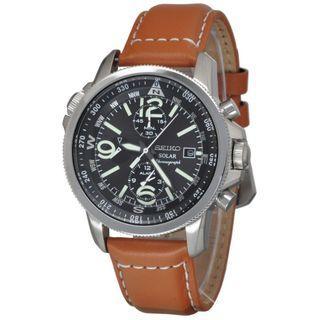 5折出售 深水步有門市全新1年保養有單正版正貨 SEIKO 精工錶 SSC081P1
