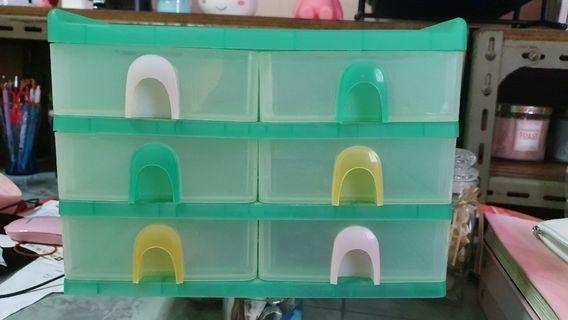 Multi-layer Desktop Drawer Storage Unit