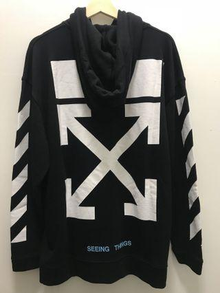 INSTOCK Off White OG Classic Arrows Hoodie