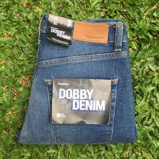 CELANA JEANS TIRAJEANS TIRA STRETCH DOBBY DENIM ORIGINAL