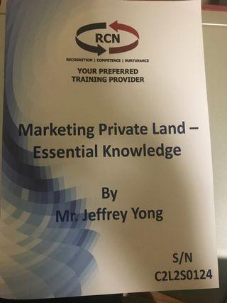 🚚 Marketing Private Land - Essential Knowledge
