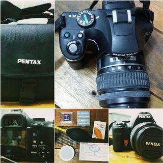 Pentax K-x 12.4MP Digital SLR Camera w/ 35-80mm Lens