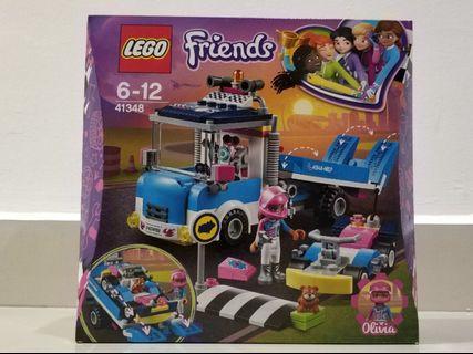 (Mark down) Lego friends (service & care truck set) 41348