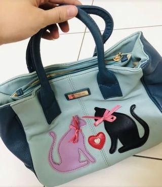 Cat design bag
