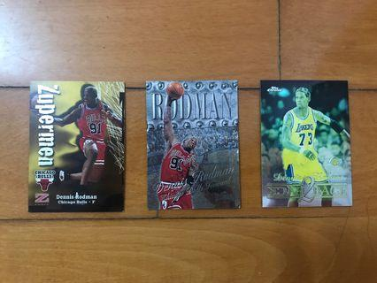 NBA Dennis Rodman Cards