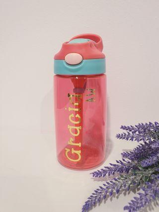 Personalised children water bottle sports children's day birthday party goodies bag gift set