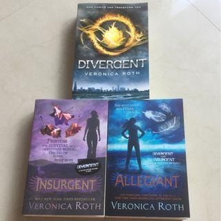 🚚 Divergent, Insurgent, Allegiant