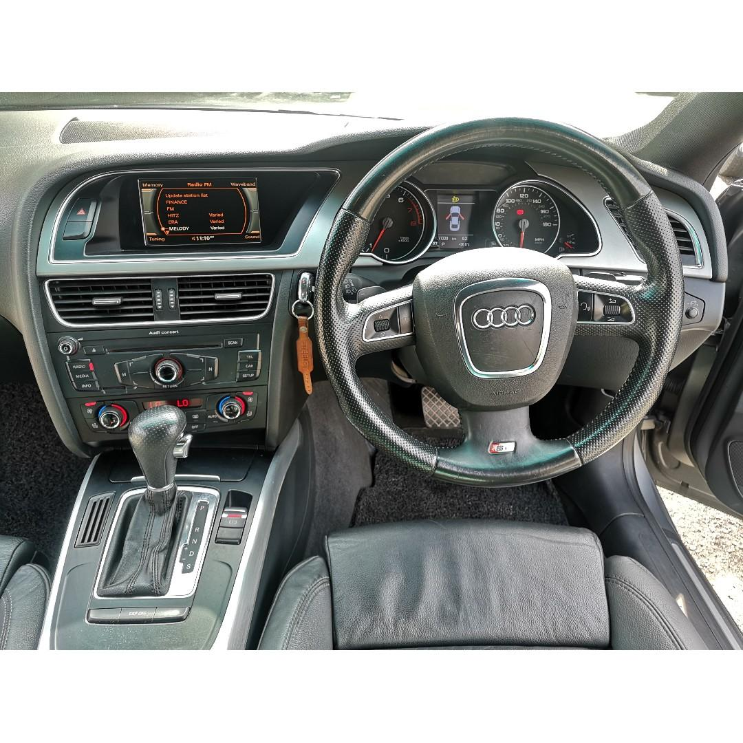 2010 Audi A5 2.0 TFSI QUATTRO S-LINE (A)RS5 1OWNER