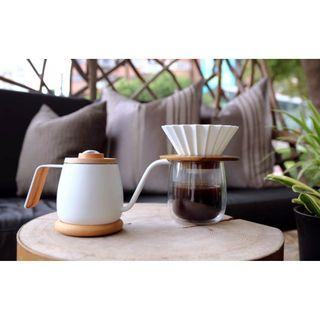 Tamago Coffee Dripper - beautiful minimalist for both v60 and Kalita wave pourovers