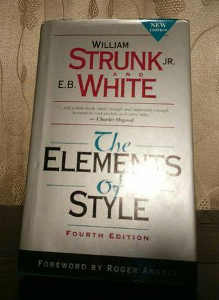 🚚 Struck and White The Elements of Style fourth edition