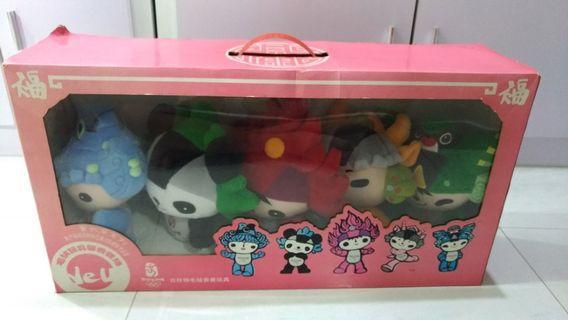 Beijing 2008 Olympics Stuffed Toy (Full Set)