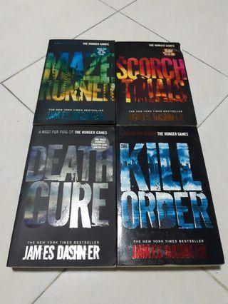 🚚 The Maze Runner Series - James Dashner