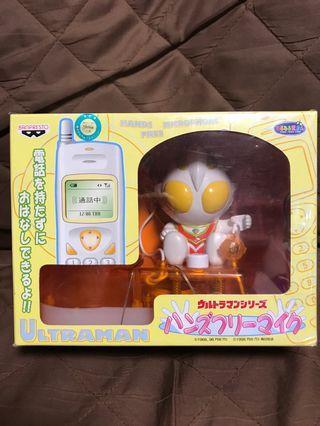 全新 日版 Banpresto 眼鏡廠 2001 Ultraman GAIA   鹹蛋 咸蛋 咸旦超人 佳亞 電話座 景品
