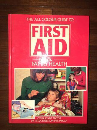 🚚 The all color guide to first aid and family health