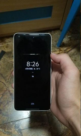 Google Pixel 2 XL黑白128gb