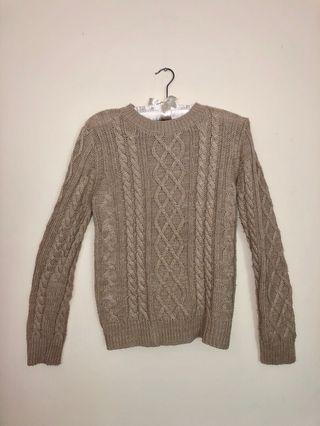 Rope Sweater (Beige)
