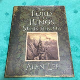 Lord of the Rings Sketchbook by Alan Lee